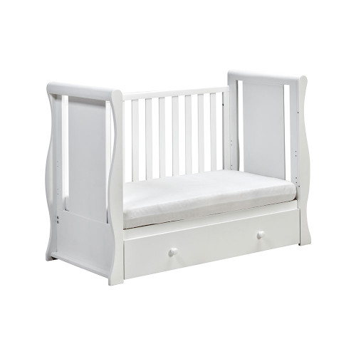 East Coast Nebraska Cot2bed - White - day bed mode