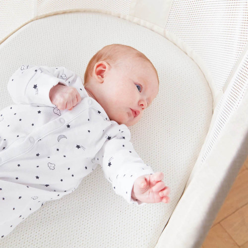 Purflo Breathable Bedside Crib Fitted Sheet