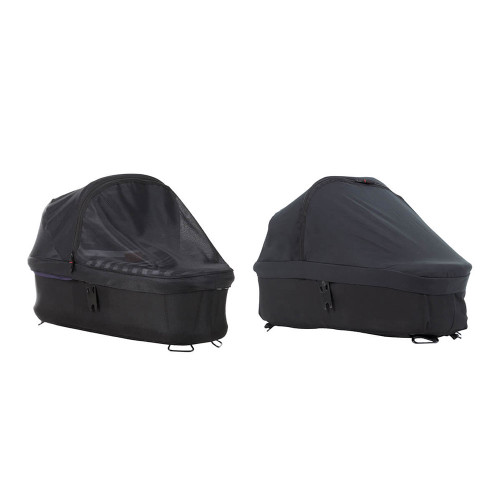 Mountain Buggy Carrycot Plus Sun Cover Set for Duet/Mini/Swift