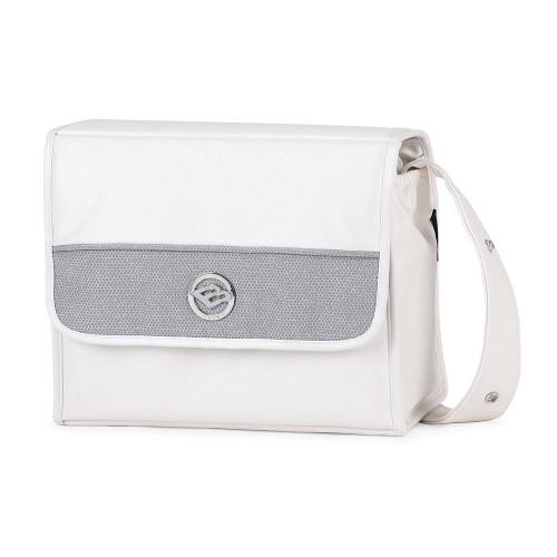 Bebecar Prive Changing Bag Carre - White Glitter (083)