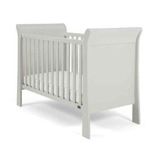 Mamas & Papas Mia Sleigh Cot - Cool Grey