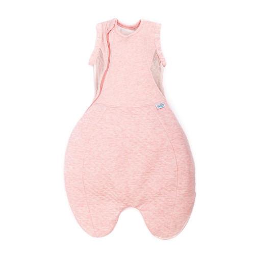 Purflo Swaddle to Sleep Bag 0-4m 2.5 tog - Shell Pink