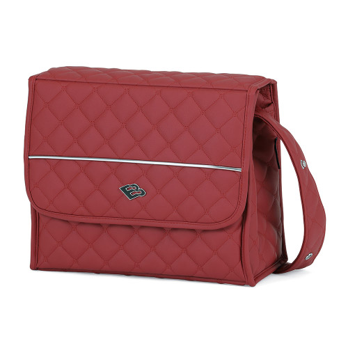 Bebecar Special Changing Bag Carre - Lava Red (034)