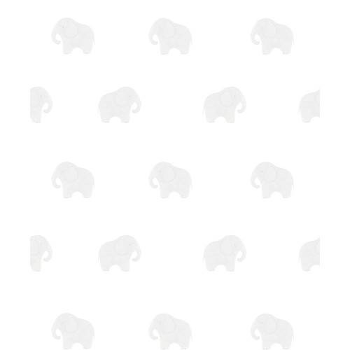 Mamas & Papas Wallpaper - Welcome to the World Elephant