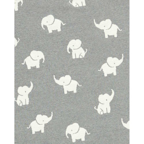 Mamas & Papas Knitted Blanket - Welcome to the World Elephant