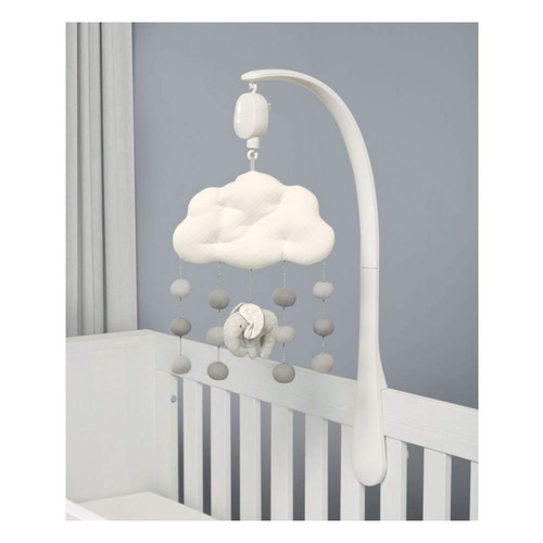 Mamas & Papas Musical Cot Mobile - Welcome to the World Elephant