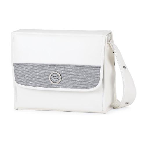 Bebecar Prive Changing Bag Carre - Steel Shimmer (086)