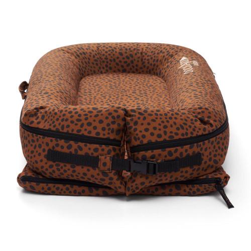 DockATot Deluxe+ Dock - Bronzed Cheetah