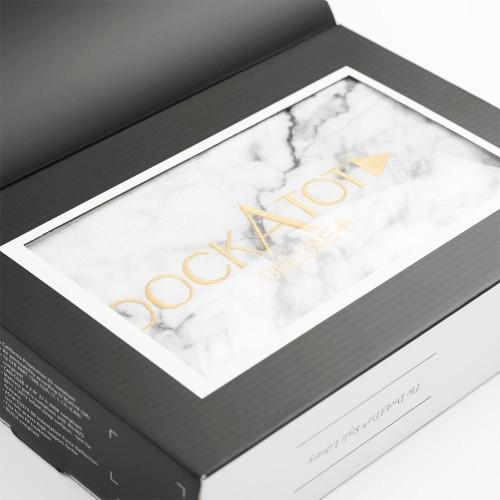 DockATot Deluxe+ Cover - Carrara Marble