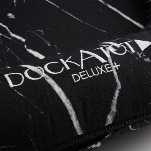 DockATot Deluxe+ Cover - Black Marble