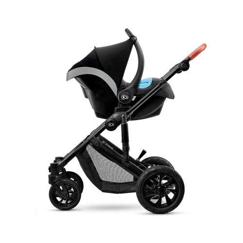 Kinderkraft Prime 3-in-1 Travel System - Grey