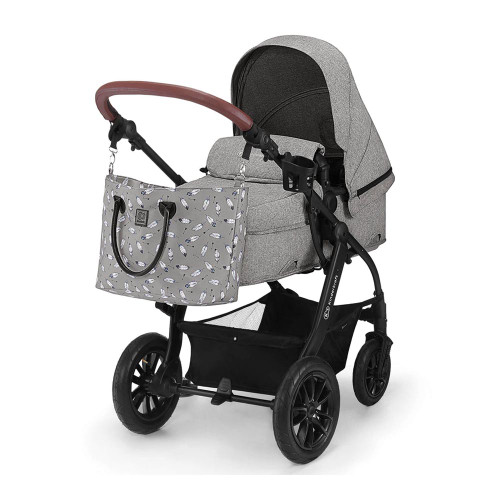 Kinderkraft XMoov 3-in-1 Travel System - Grey