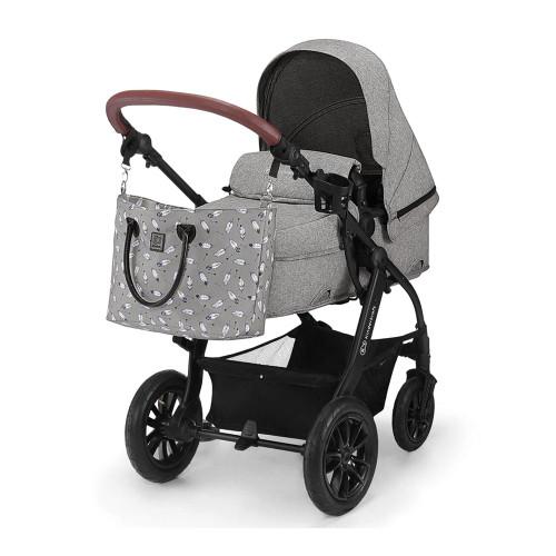 Kinderkraft XMoov 3-in-1 Travel System - Grey