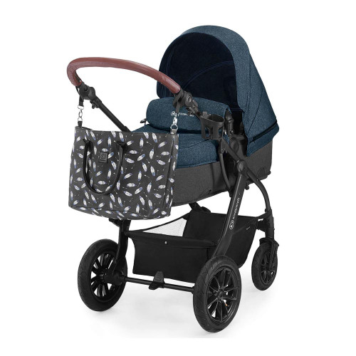 Kinderkraft XMoov 3-in-1 Travel System - Denim