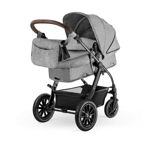 Kinderkraft Moov 3-in-1 Travel System - Grey Melange