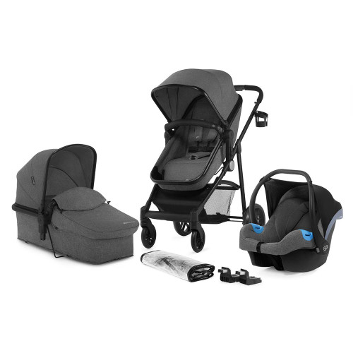 Kinderkraft Juli 3-in-1 Travel System - Grey