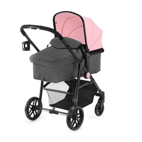 Kinderkraft Juli 3-in-1 Travel System - Pink