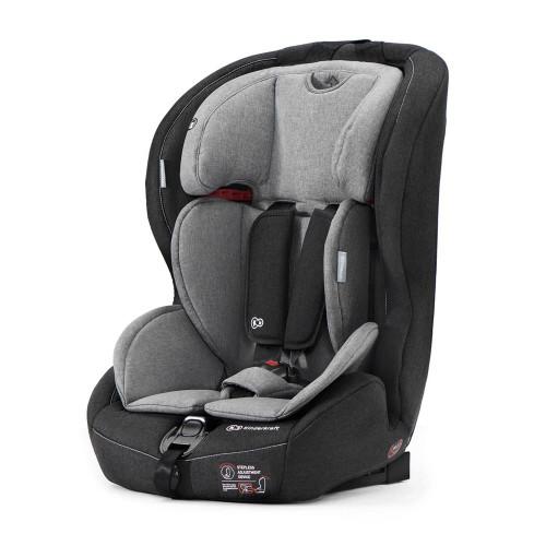 Kinderkraft Safety-Fix Isofix Car Seat - Black/Grey