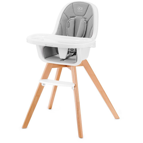Kinderkraft Tixi 2-in-1 Highchair - Grey