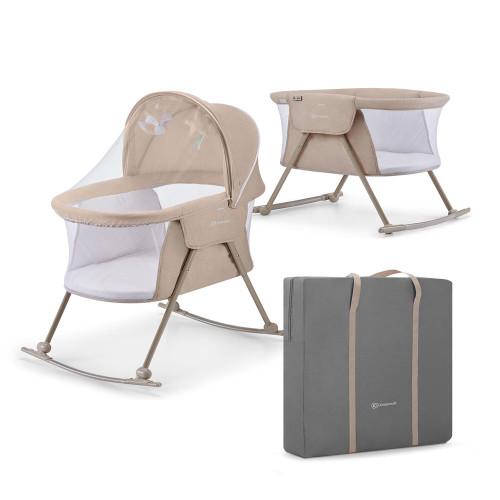 Kinderkraft Lovi 3-in-1 Baby Crib - Beige