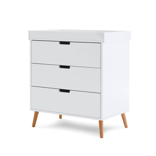 Obaby Maya Changing Unit - White with Natural