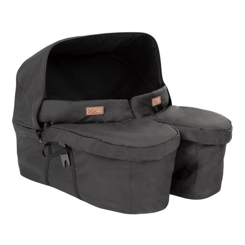 Mountain Buggy Carrycot Plus For Twins - Black