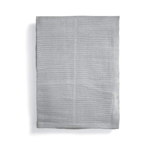 Mamas & Papas Large Cellular Blanket - 120 x 170cm - Grey