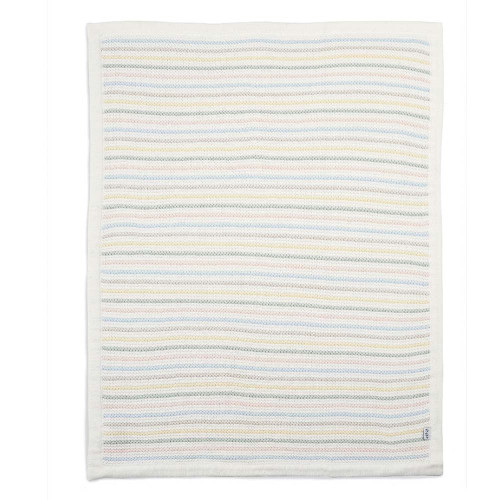Mamas & Papas Knitted Blanket - Soft Pastel