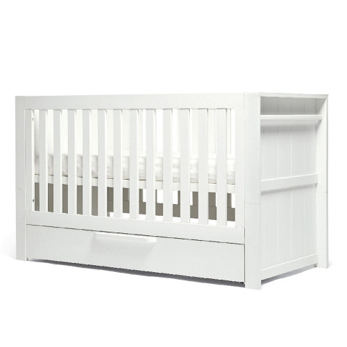 Mamas & Papas Franklin Cot/Day/Toddler Bed - White Wash