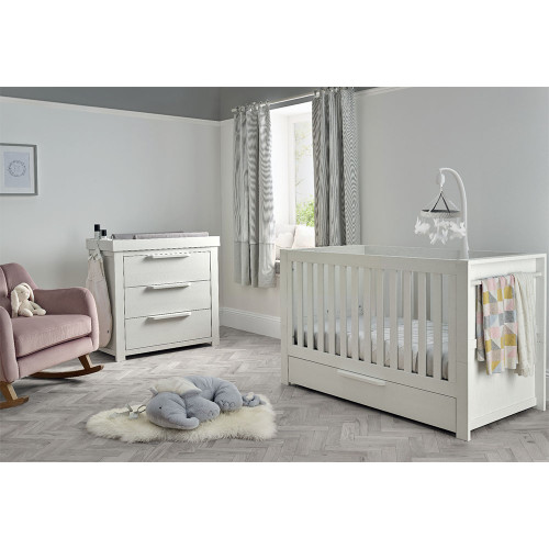 Mamas & Papas Franklin 2 Piece Set - White Wash