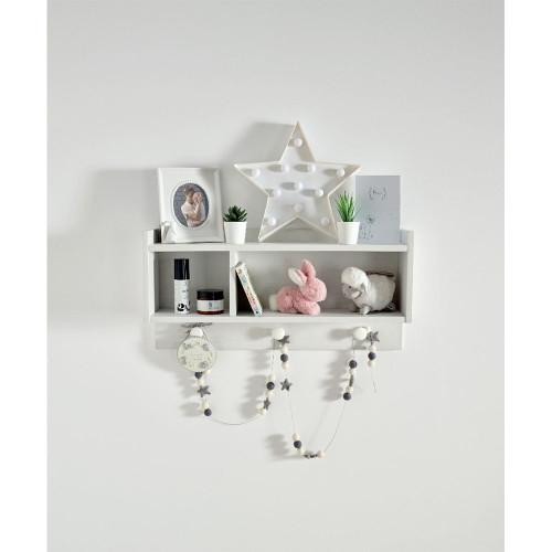 Mamas & Papas Franklin Nursery Shelf - White Wash