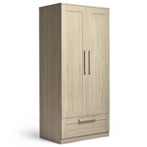 Mamas & Papas Atlas Wardrobe - Light Oak