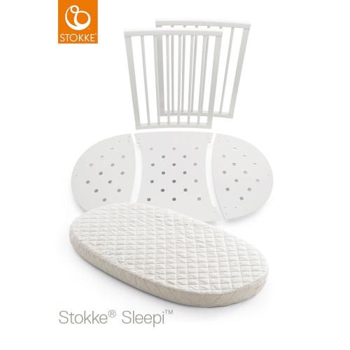 Stokke® Sleepi™ Bed Extension Kit + Mattress - White
