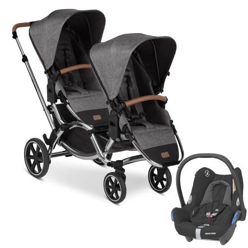 ABC Design Zoom inc 2 Seats Diamond Edition + Cabriofix - Asphalt
