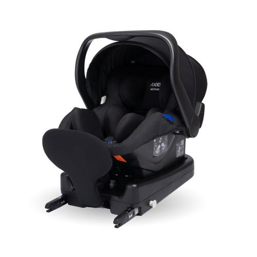 Axkid Modukid i-Size Infant Car Seat + Isofix Base - Black