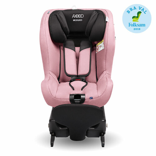 Axkid Modukid i-Size Toddler Car Seat + Isofix Base - Pink