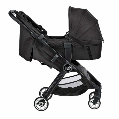 Baby Jogger City Tour 2 + Carrycot - Pitch Black- side