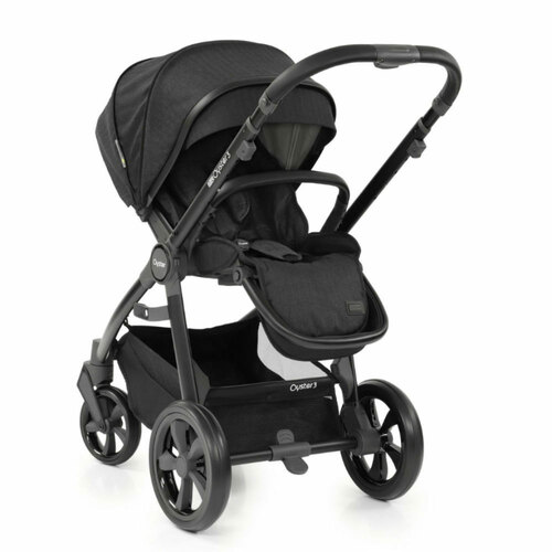 Babystyle Oyster 3 Pushchair - Black/Noir - parent facing