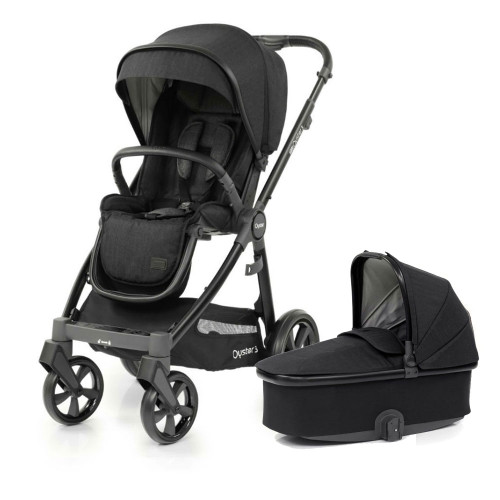 Babystyle Oyster 3 Pushchair + Carrycot - Black/Noir