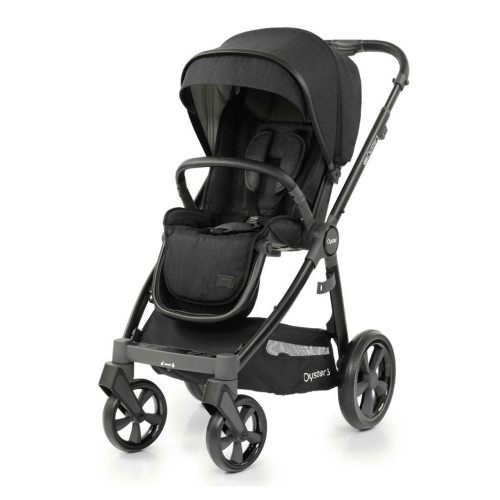 Babystyle Oyster 3 Pushchair - Black/Noir