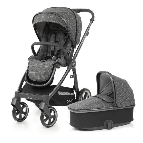 Babystyle Oyster 3 Pushchair + Carrycot - City Grey Chassis/Manhattan