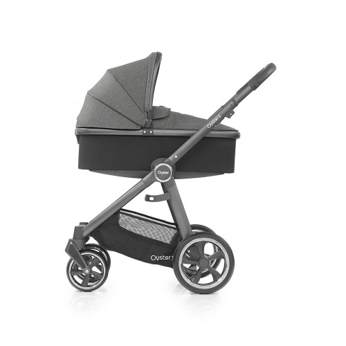Babystyle Oyster 3 Pushchair + Carrycot - City Grey Chassis/Berry
