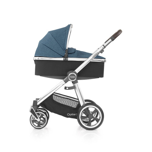 Babystyle Oyster 3 Pushchair + Carrycot - Mirror Chassis/Regatta