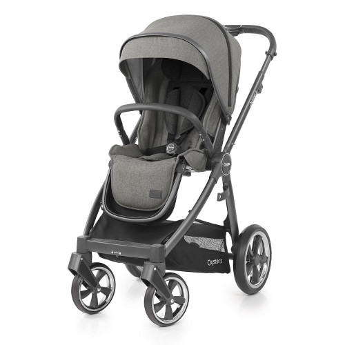 Babystyle Oyster 3 Pushchair - City Grey Chassis/Mercury