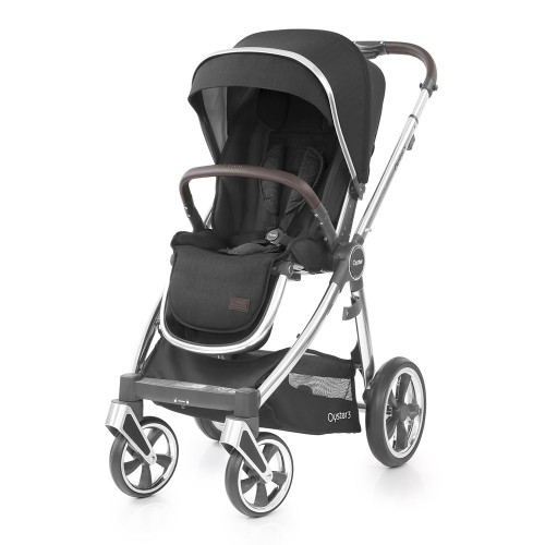 Babystyle Oyster 3 Pushchair - Mirror Chassis/Caviar