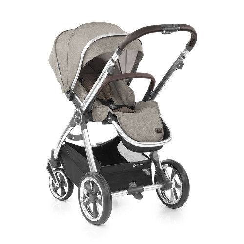Babystyle Oyster 3 Pushchair - Mirror Chassis/Pebble