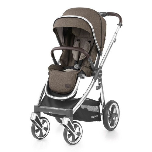 Babystyle Oyster 3 Pushchair - Mirror Chassis/Truffle
