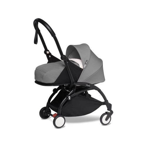 BABYZEN YOYO 2 Newborn Package - Grey with Black Frame
