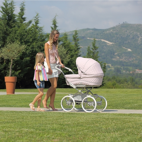 Bebecar Special Stylo Class+ Combi + Raincover & LA3 Kit - Soft Pink (954)