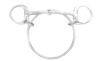 Dexter Ring Bit Racing Snaffle Stainless Steel